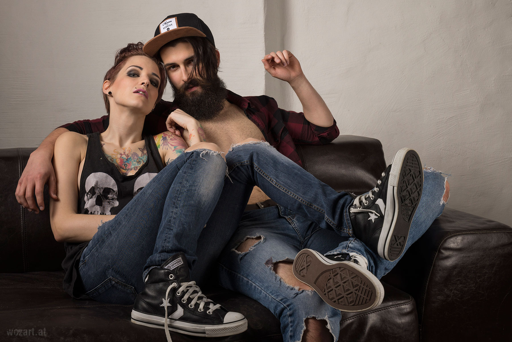 Jacky & Christian in Chucks